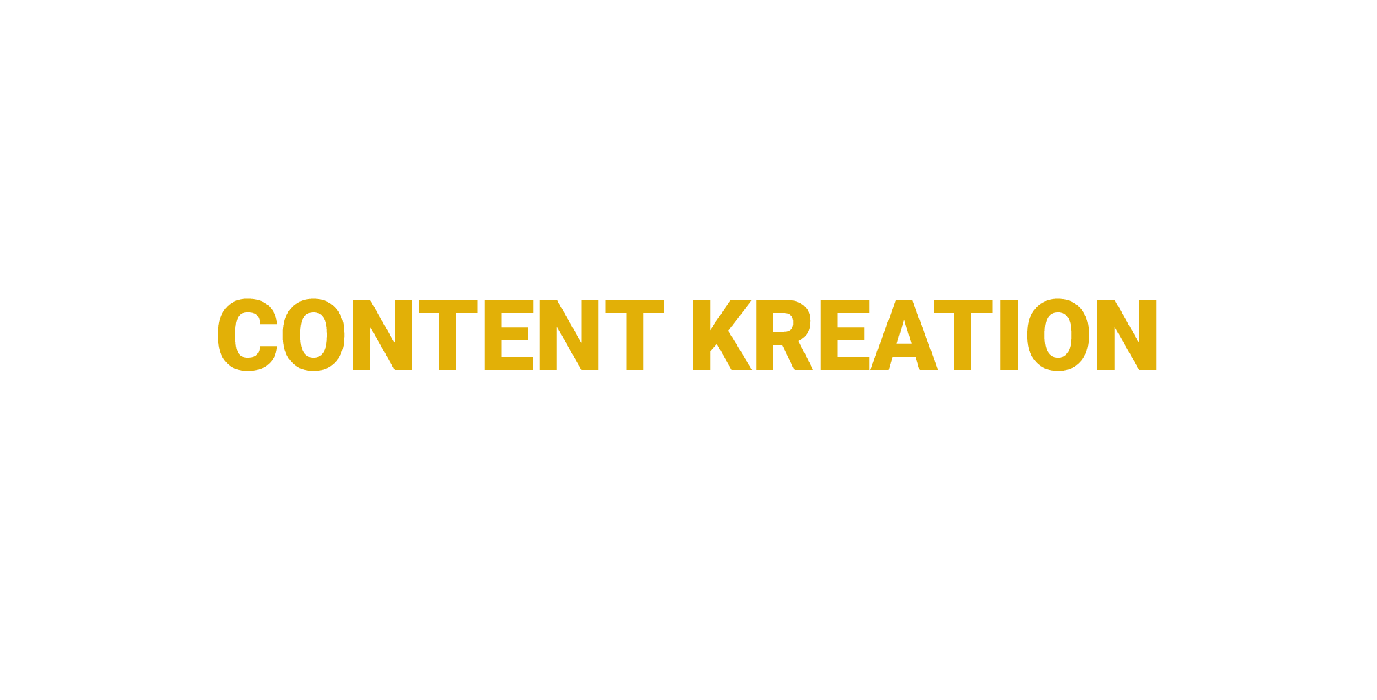 Content Kreation | Seen Sign | München